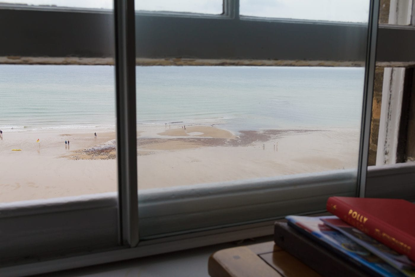 The Nothern sea from a window