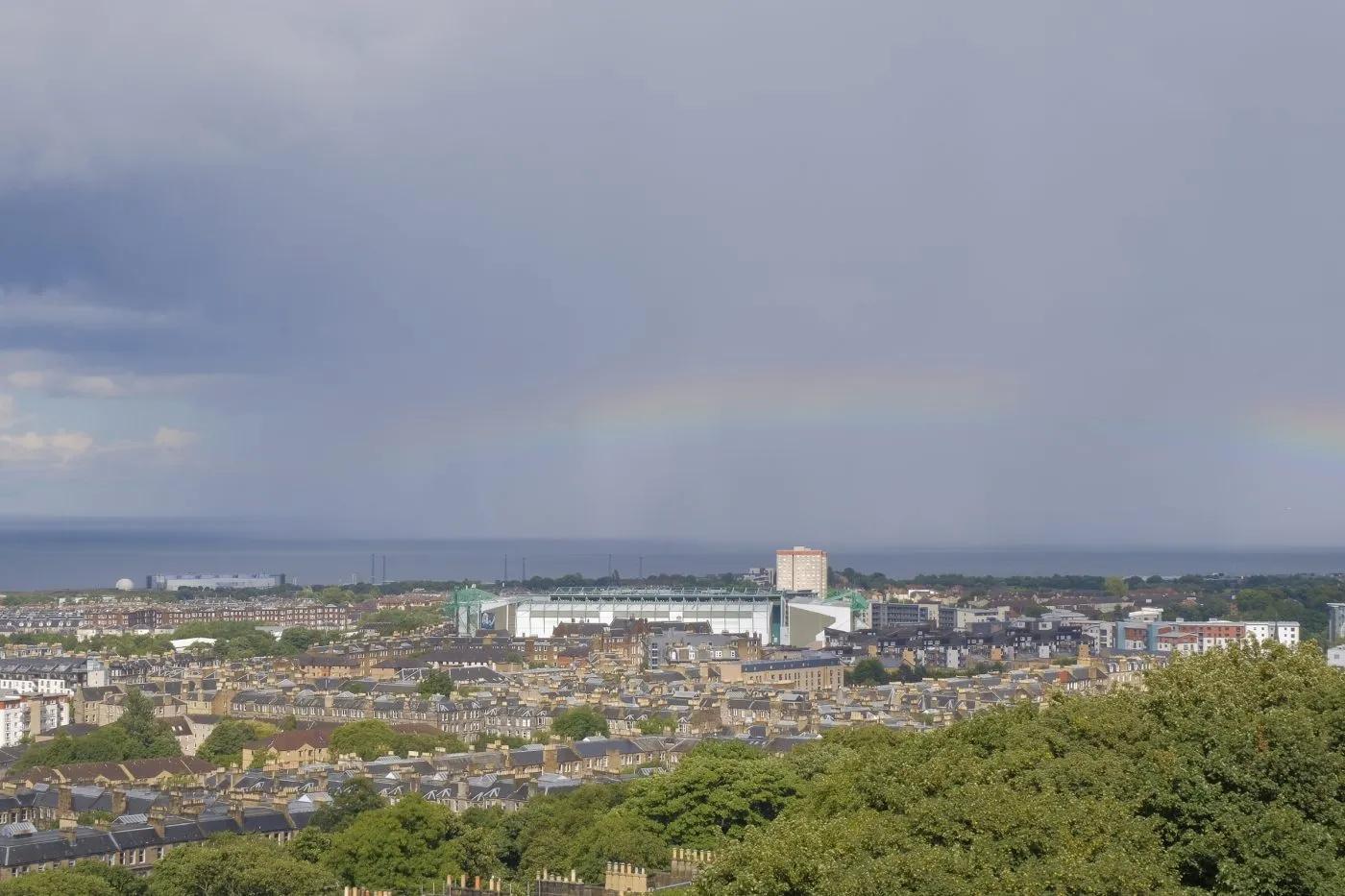 The view from Calton Hill, Edinburgh