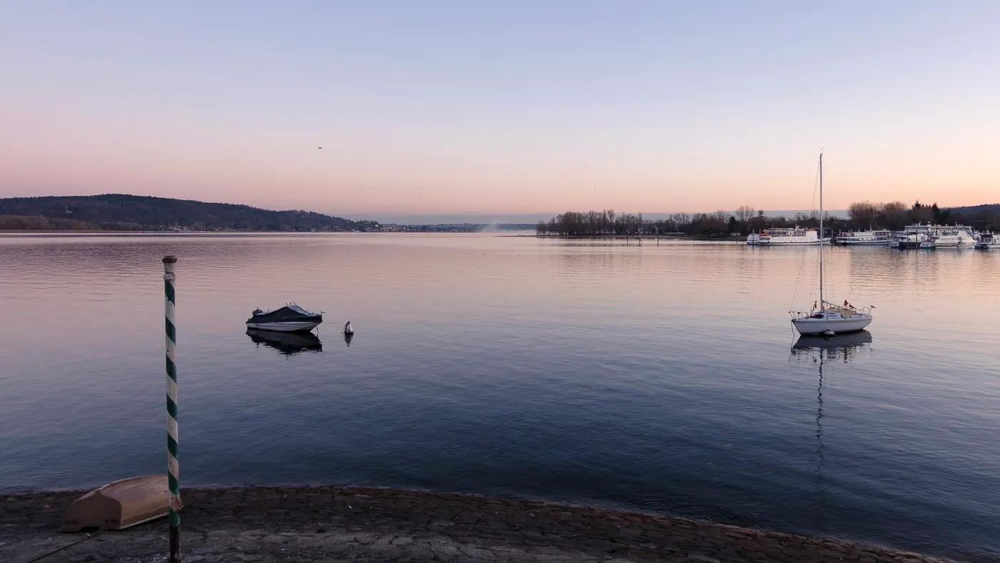 Sails on Lake Maggiore