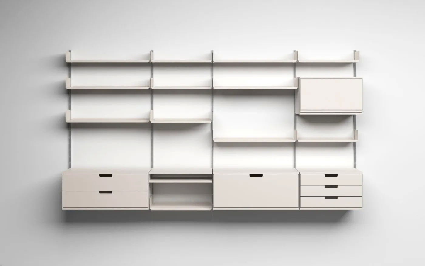 Vitsœ 606 Universal Shelving System, 1960, by Dieter Rams. Image credit: Sgustok Design