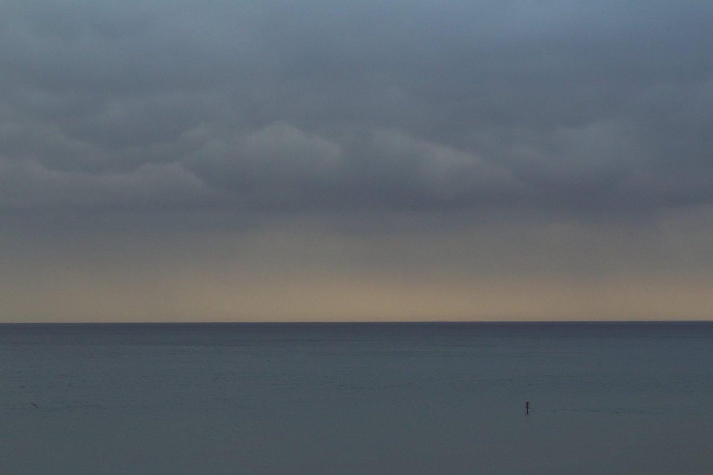 The North Sea at Cromer