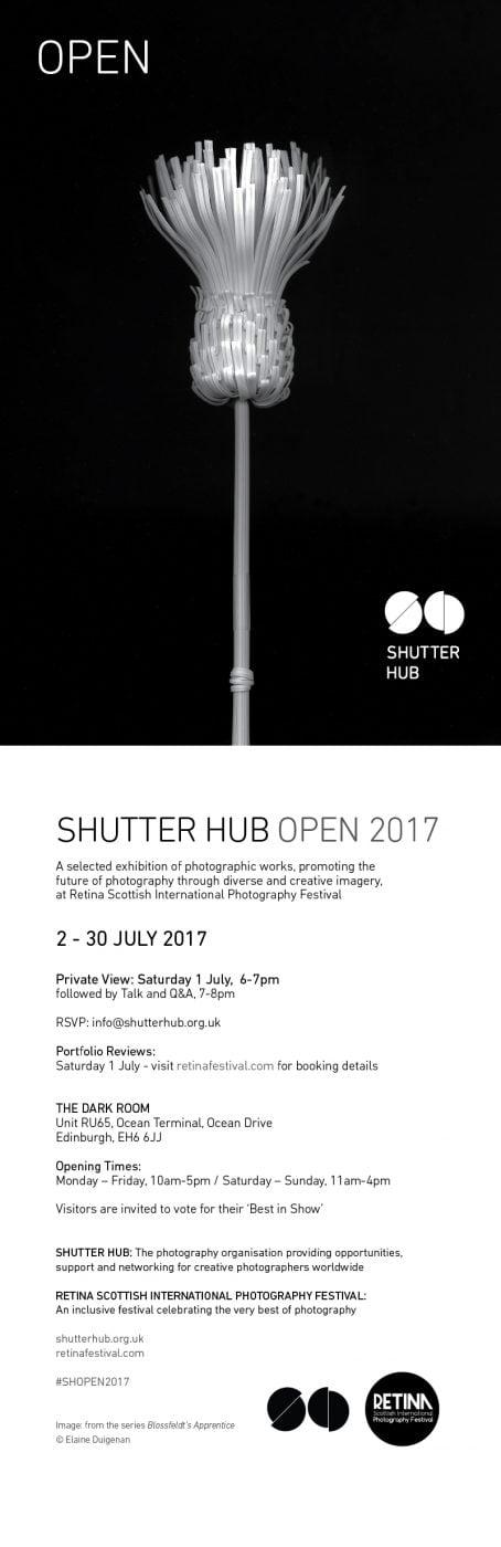 Shutter Hub Open Flyer 2017